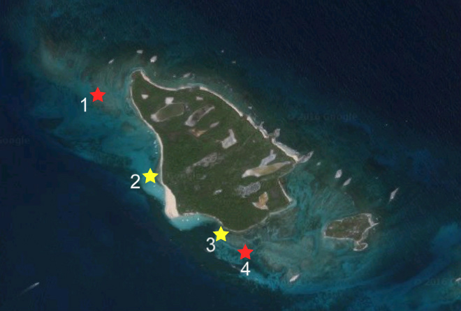 icacos snorkeling spots